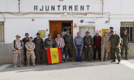 Visita de la Guàrdia Real a La Torre d'en Besora