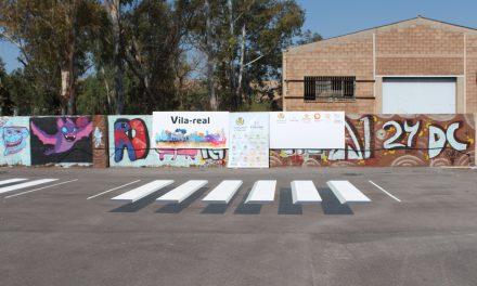 El 'living-lab' Vila-real llança un projecte pilot de passos de vianants en 3D per a reduir la velocitat i millorar la seguretat