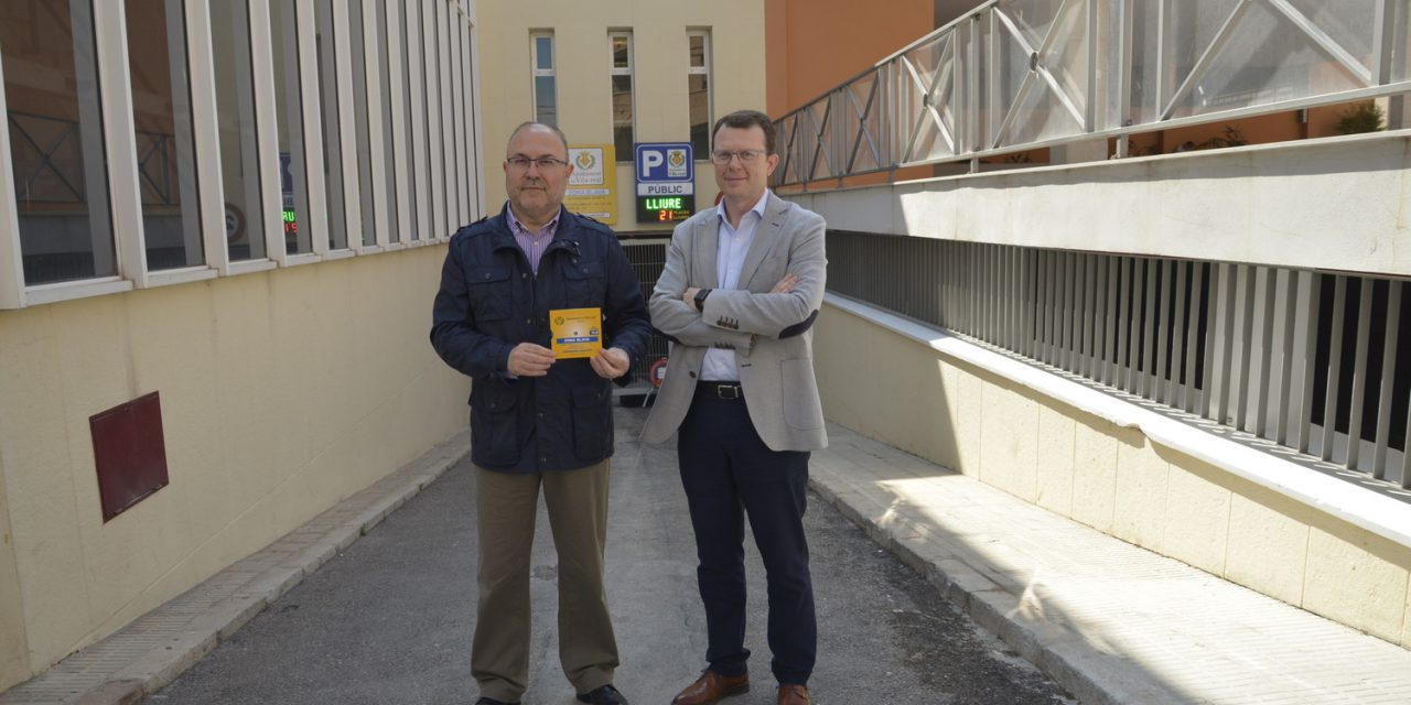 El pàrquing de la plaça de Colom de Vila-real reobri amb un nou sistema de funcionament per a compatibilitzar l'ús comercial i veïnal