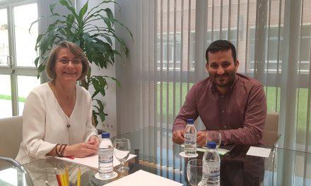El conseller Marzà i la rectora Eva Alcón mantenen una reunió de treball en matèria universitària