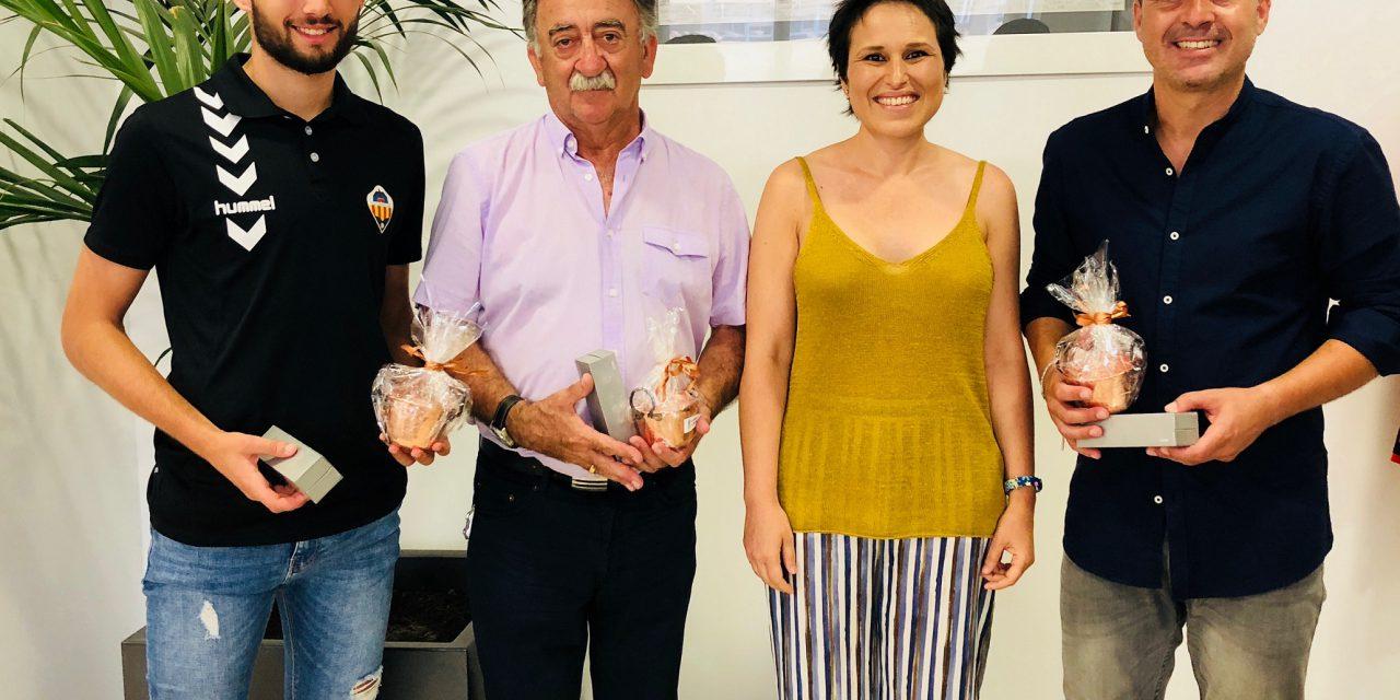 Homenatge a Sergi Escobar i David Colomer en Almassora