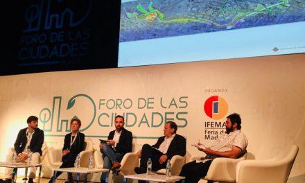 Castelló presenta el Corredor Mediambiental del Riu Sec en el Fòrum de les Ciutats de Madrid