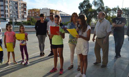 El Correllengua 2018 visita els col.legis de la Vall d´Uixó