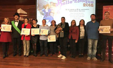 Benicàssim viu la segona Gala Belle Époque amb l'entrega de premis als guanyadors dels concursos de l'esdeveniment