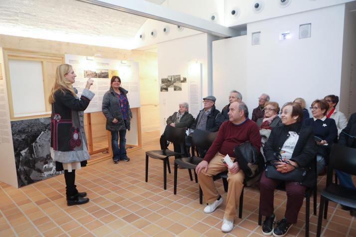 L'alcaldessa inaugura una campanya que portarà als majors pel passat històric de Castelló