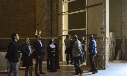 Les obres de la basílica de Sant Pasqual de Vila-real avancen amb l'execució dels treballs per a l'adequació del cor i nàrtex