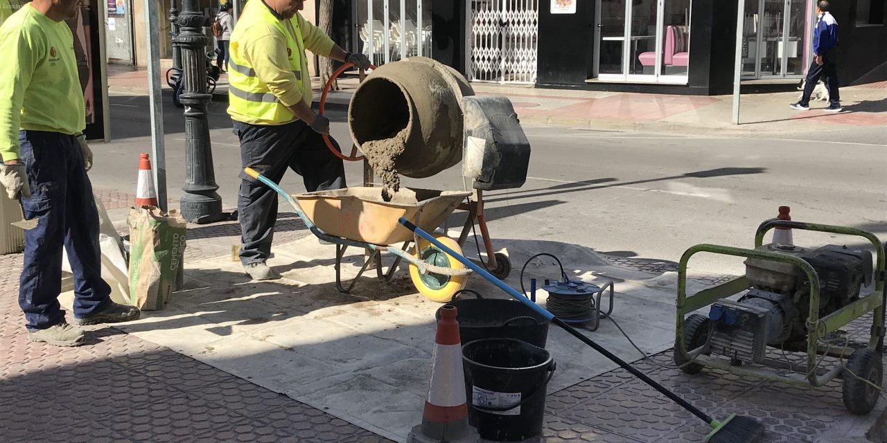El consistori executa un manteniment integral del carrer Sant Tomàs