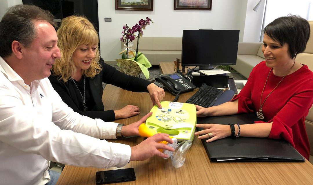Almassora compra desfibril·ladors i equips contra ennuegaments per a IES, col·legis i escola infantil