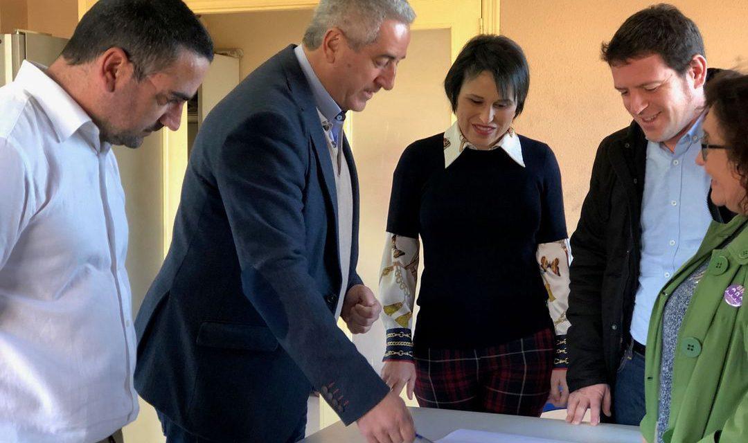 Almassora eliminarà abocaments i millorarà el tractament de fems amb les obres en la planta de Reciplasa