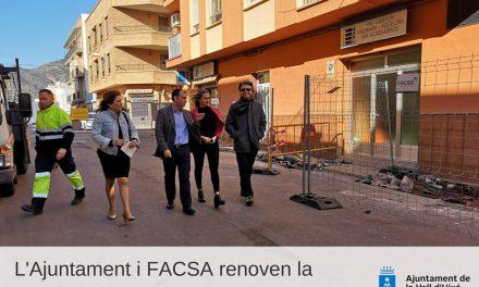 L´Ajuntament de la Vall i Facsa renoven la xarxa d´aigua potable