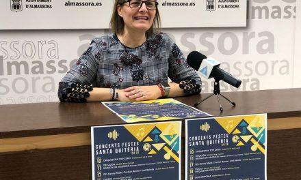 Dvicio i el tribut a Sabina encapçalen els concerts de les festes d'Almassora