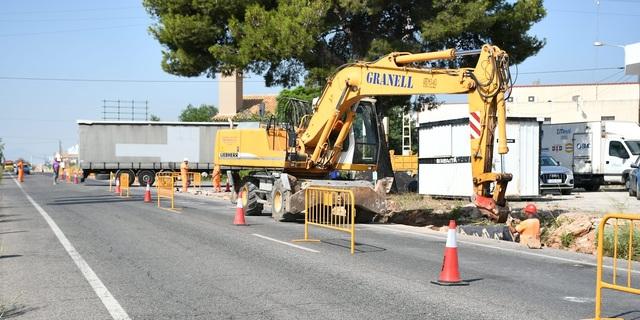 La modernització de polígons de Vila-real pren impuls amb l'inici de les obres en la zona industrial de la carretera d'Onda