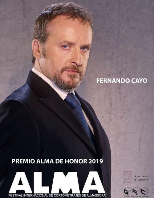 L'actor Fernando Cayo rebrà l'Alma de Honor en el I Festival Internacional de Curts d'Almassora