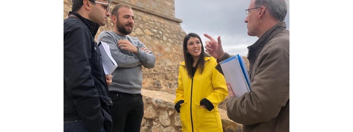 El castell d'Orpesa serà 100% visitable per al turista i tindrà una senda exterior