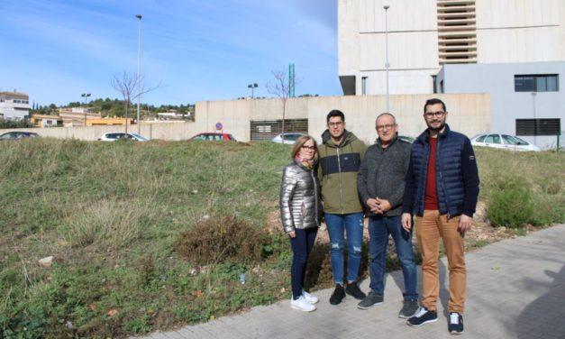 La creació d'una zona verda en l'avinguda Corts Valencianes, projecte guanyador dels pressupostos participatius
