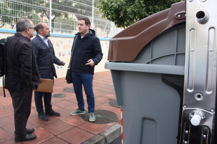 Castelló avança en la implantació de la recollida d'orgànica amb 40 nous contenidors marrons