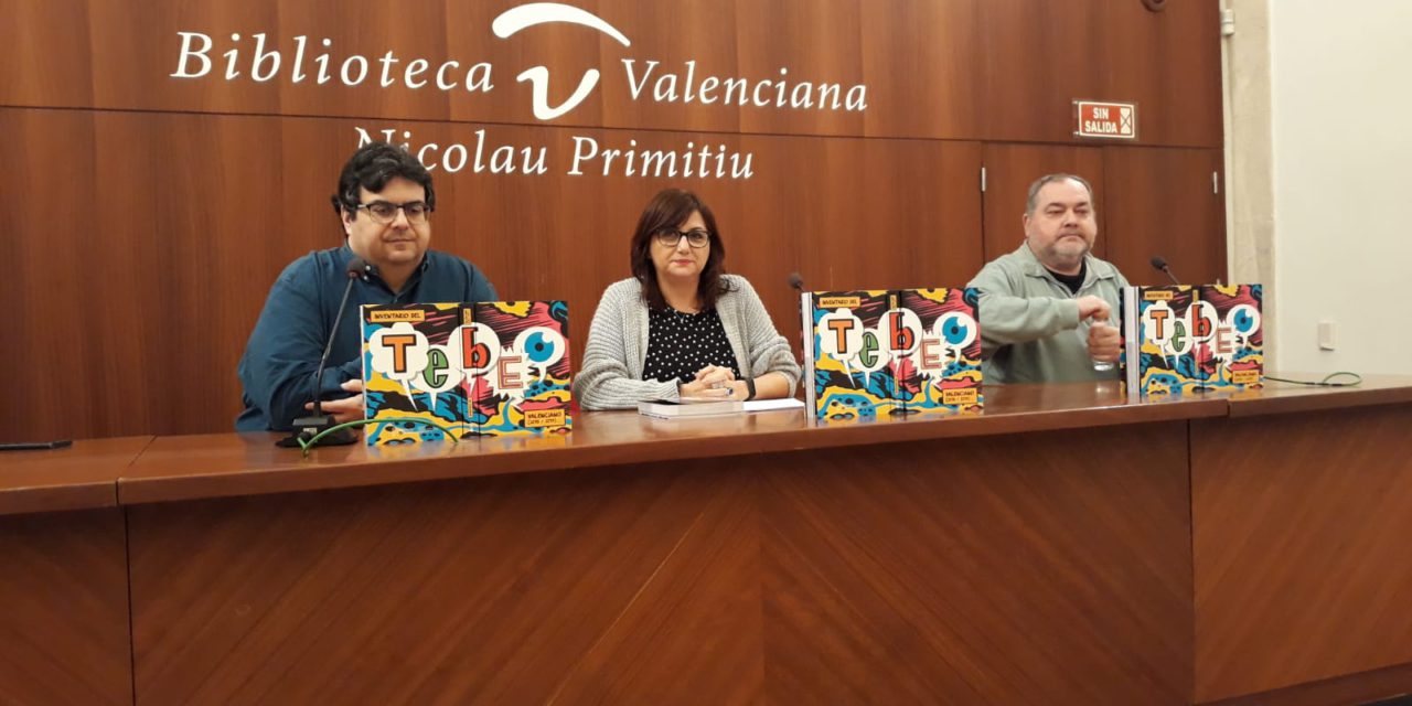 """La Generalitat publica l""""Inventario del Tebeo Valenciano 2018-2019′ amb una nòmina de 132 il·lustradores i il·lustradors actius al territori valencià"""