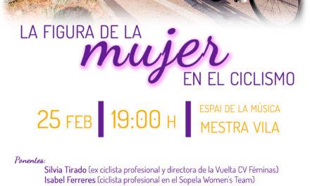 Benicàssim debatrà el 25 de febrer sobre la figura de la dona en el ciclisme