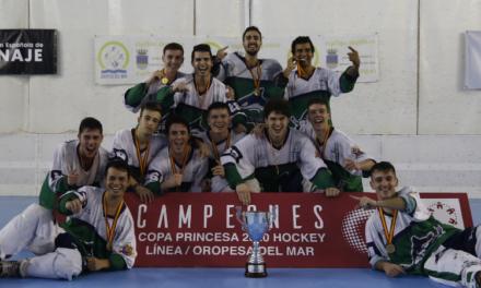 El HC Platges d'Oropesa, campió de la Copa SM La Princesa