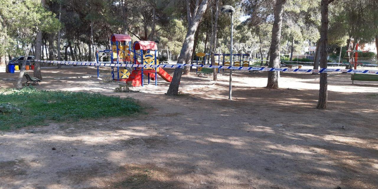 L'Ajuntament de Vila-real precinta parcs i zones d'esbarjo per a garantir el compliment del protocol per la COVID-19 i demana col·laboració i responsabilitat a la ciutadania