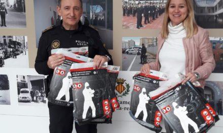 La Cooperativa dona 10 equips de protecció per a la Policia Local  de Vila-real