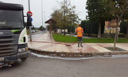 El municipi intensifica la neteja i desinfecció dels carrers