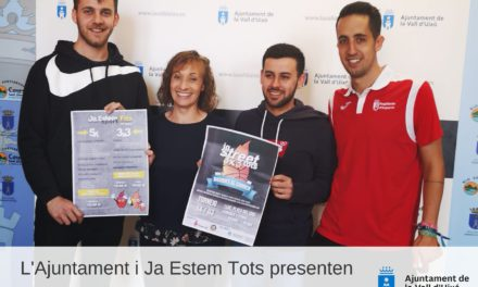 L'Ajuntament de la Vall d´Uixó i la Falla Ja Estem Tots presenten la Jornada Esportiva del 14 de març