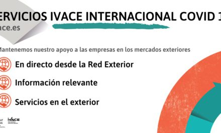Economia Sostenible manté el suport a les empreses en els mercats exteriors a través d'Ivace Internacional