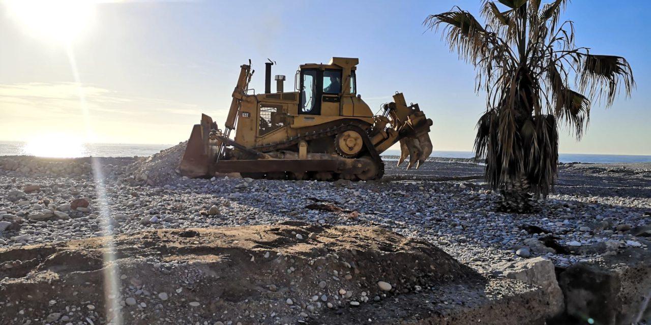 Almassora insta a Costes a reprendre amb urgència l'adequació de la platja