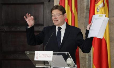 Puig demana 'transparència, reciprocitat i regles objectives' per a millorar la cogovernança entre el Govern central i les comunitats autònomes
