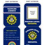 Nules crea un carnet de Policia Municipal Infantil per a recordar les normes de les eixides als més menuts