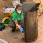 """L'alumnat del Programa """"Et Formem"""" de Nules millora el mobiliari urbà"""