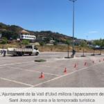 L'Ajuntament de la Vall d´uixó millora l´aparcament de Sant Josep de cara a la temporada turística