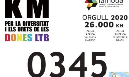 """Nules dóna suport al col.lectiu LGTBI amb la campanya """"Km per la diversitat"""""""
