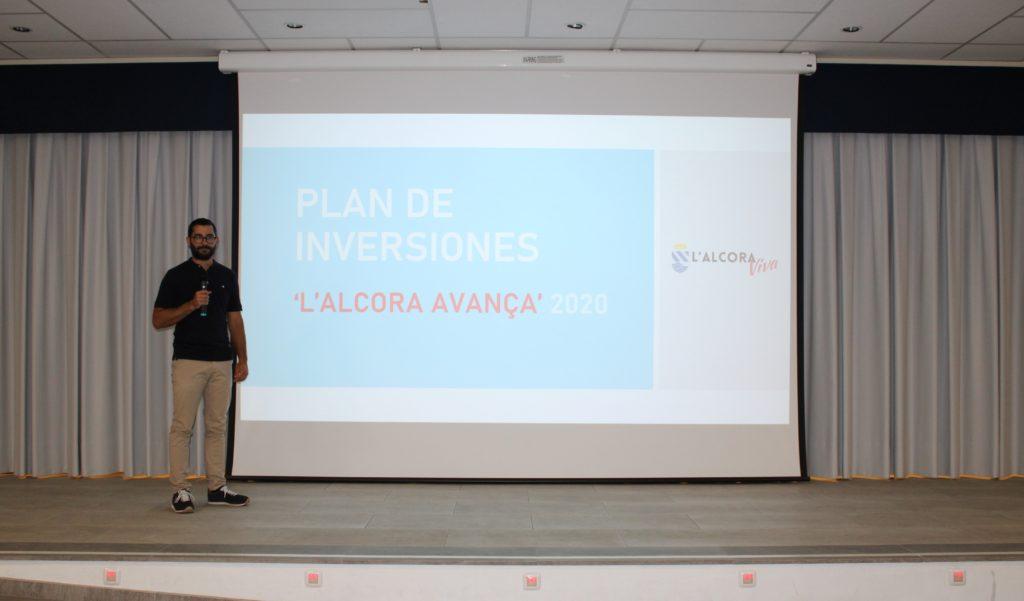 Falomir anuncia un pla d'inversions de 500.000 € per a 'continuar millorant l'Alcora'
