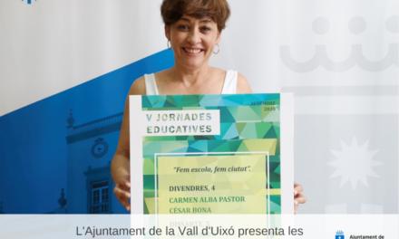 L'Ajuntament de la Vall d´Uixó presenta les V Jornades Educatives de la Vall d´Uixó
