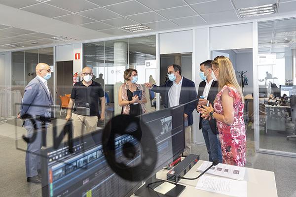 La delegació d'ÀPunt a Castelló es trasllada a la Universitat Jaume I