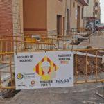 Vila-real treballa en la modernització de la xarxa d'aigua potable amb la renovació de canalitzacions al carrer Furs de València