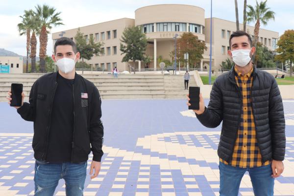 Els estudiants de l'UJI Pedro Ramírez i Pedro Pardo guanyen un Premi Internacional de Periodisme Mòbil