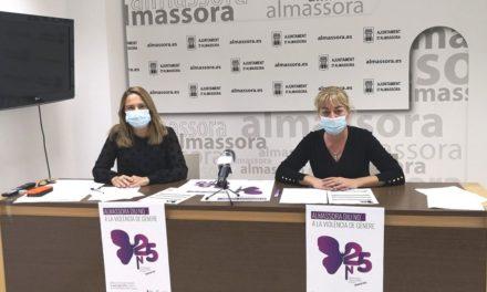 Almassora lluita contra la violència de gènere amb activitats gratuïtes