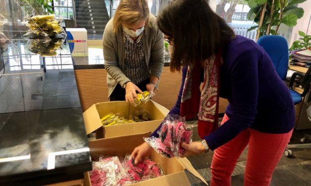 Almassora reparteix 2.000 màscares a l'alumnat dels sis col·legis