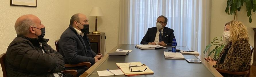 Miquel Barrera recolza la redefinició de la marca 'Castelló Ruta de Sabor' empresa per la Diputació de Castelló