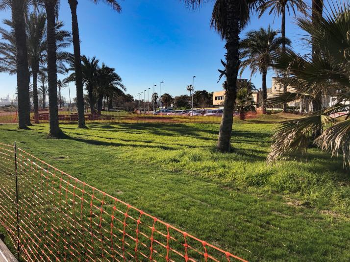 Castelló millora més de 5.000 m² del parc litoral amb el Pla d'Inversions de Revitalització Econòmica