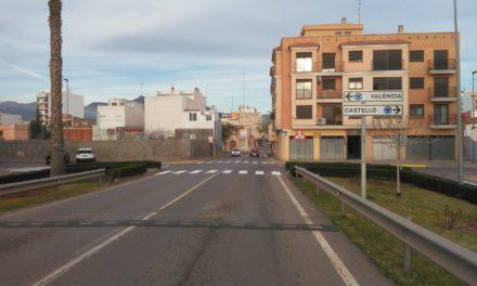 Nules millora la seguretat viària d´algunes zones del municipi amb la creació de nous passos zebra