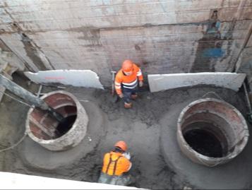 Castelló repara una avaria en el sistema de drenatge de la Marjaleria per posar fi a les molèsties en les Partida Catalana i Rafalafena
