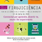 Firujiciència estrena nova web i ultima la trobada virtual del 13 de maig de 2021