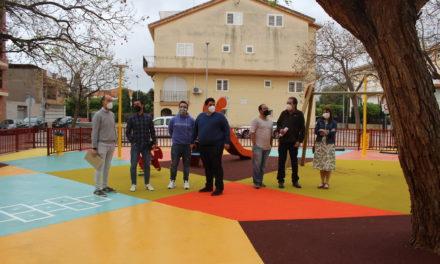 Nules obri el recent remodelat Parc Infantil a la zona del carrer de José Moreno Torres