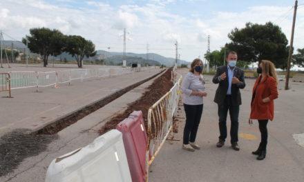 Benicàssim inicia les obres de soterrament de les línies d'alta tensió en el recinte de festivals